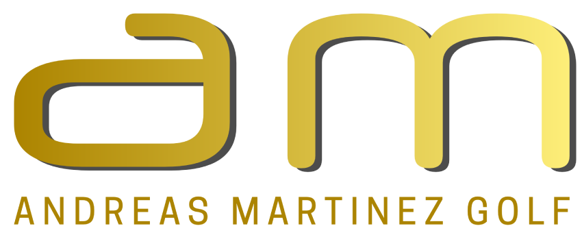 Logotype andreas martinez golf
